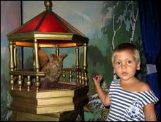 Выставка восковых фигур по сказкам Пушкина «Лукоморье»