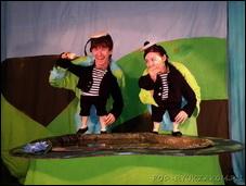 Спектакль «Театр на ладошке. Весна» в московском театре кукол
