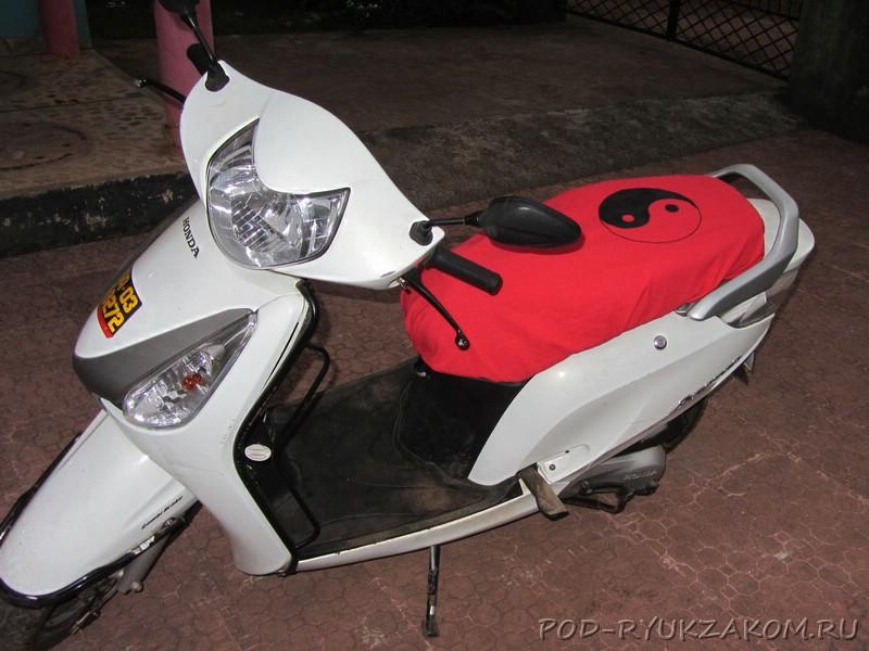 Чехол для скутера