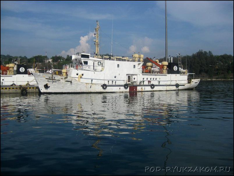 Паром на Андаманских островах
