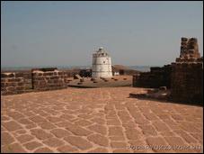 Форт Агуда в Гоа