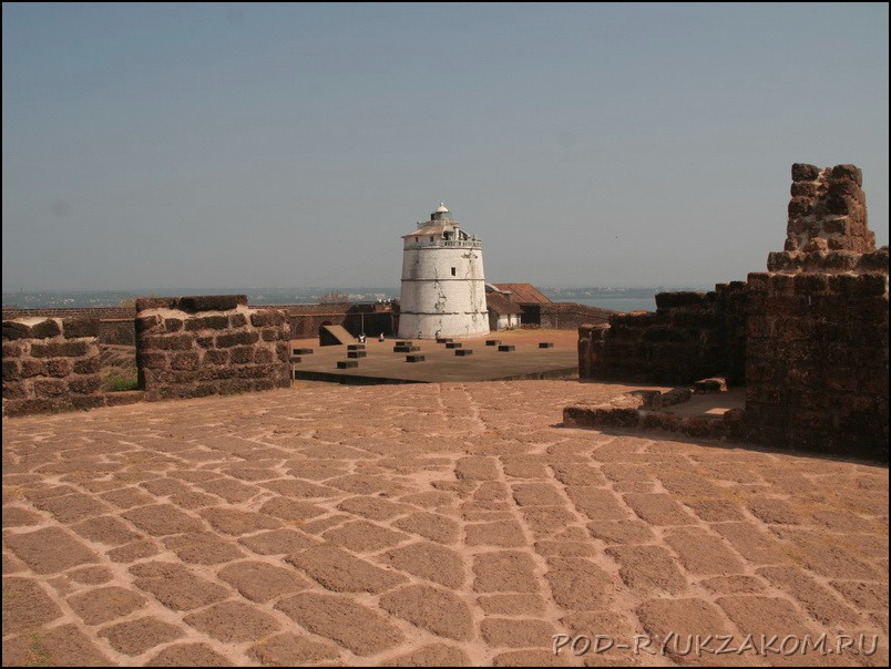 Фгуда форт в Гоа