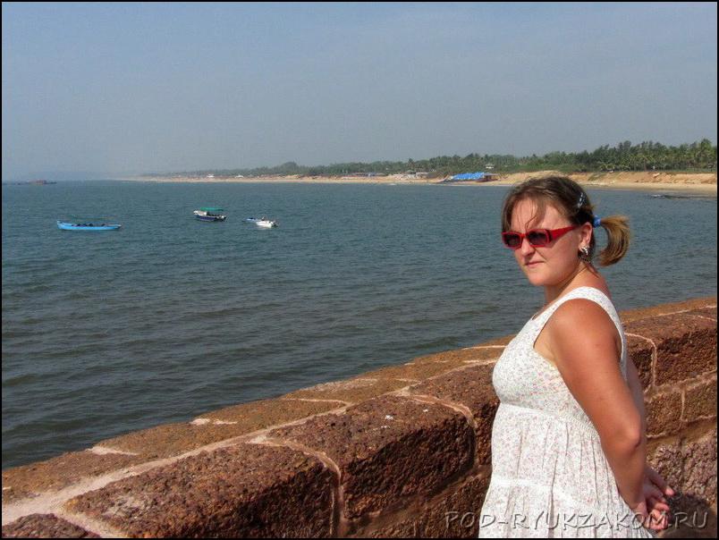 Агуда форт в Гоа