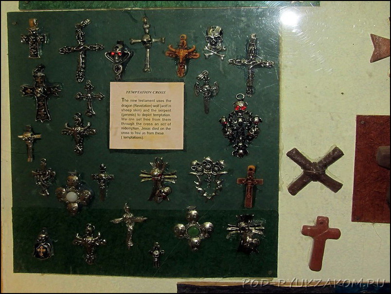 Cross museum in Goa