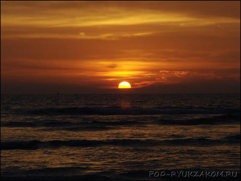 Закаты в Гоа