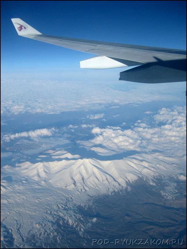 Над Кавказскими горами