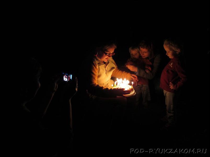 Манюнин День Рождения в Ледановке