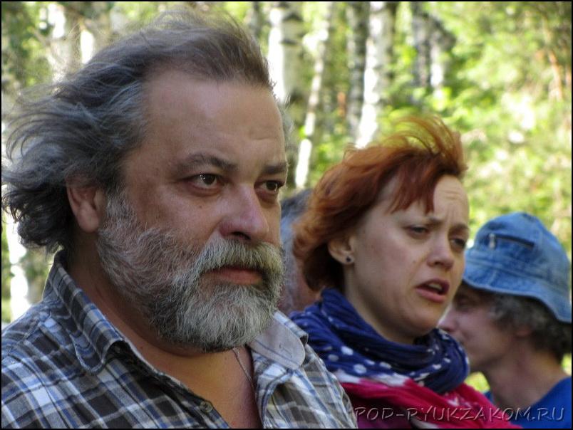 Андрей Анпилов и Ольга Чикина