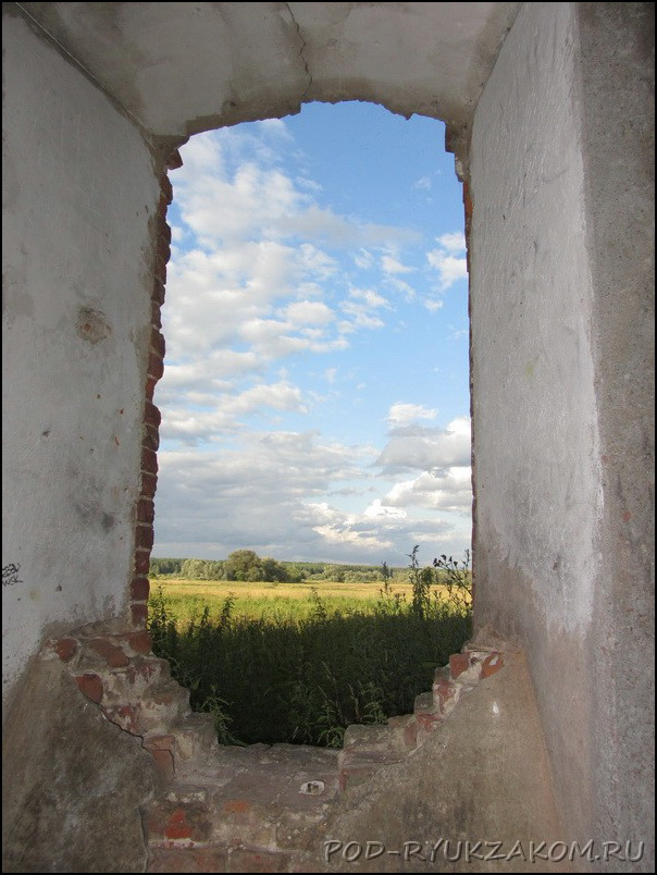 Старая мельница на Протве