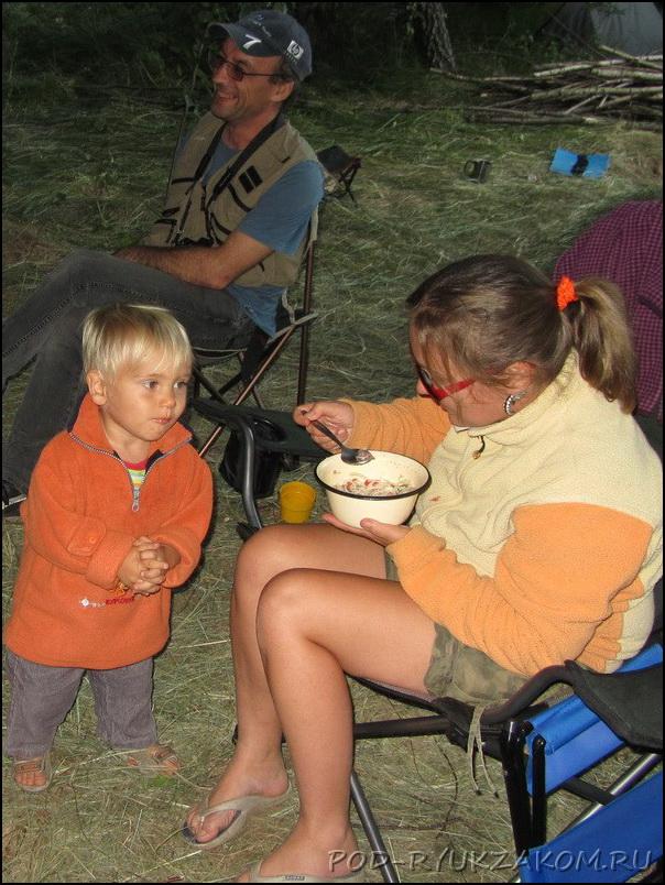 Макароны с тушенкой на ужин