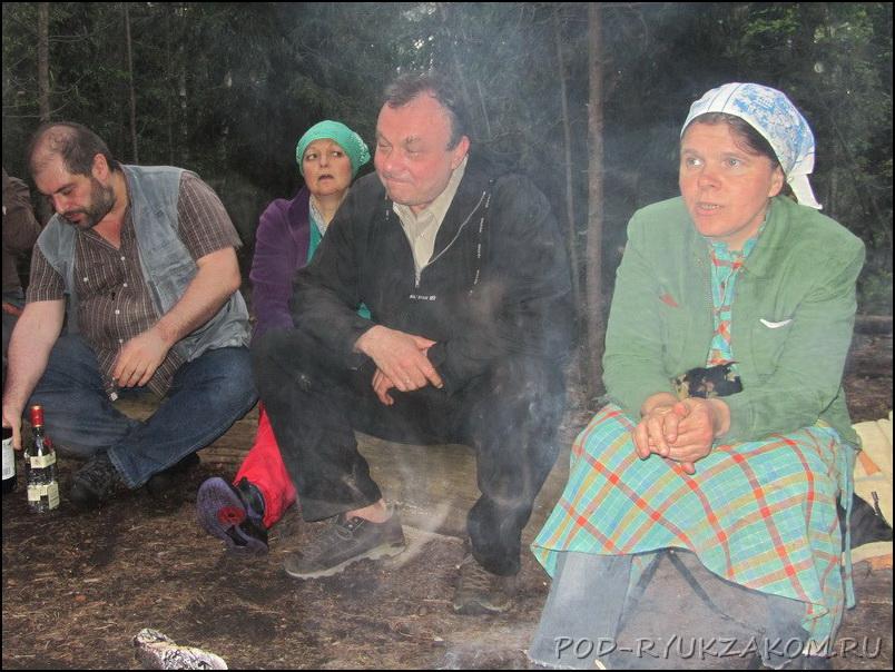 Женя Андреев, Петя Трубецкой и Домовенок
